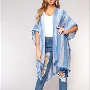 "Fashion Nova ""Summer Vibes"" Kimono"